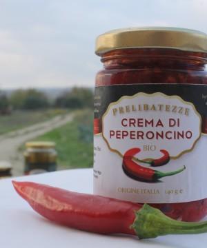 crema di peperoncino rosso